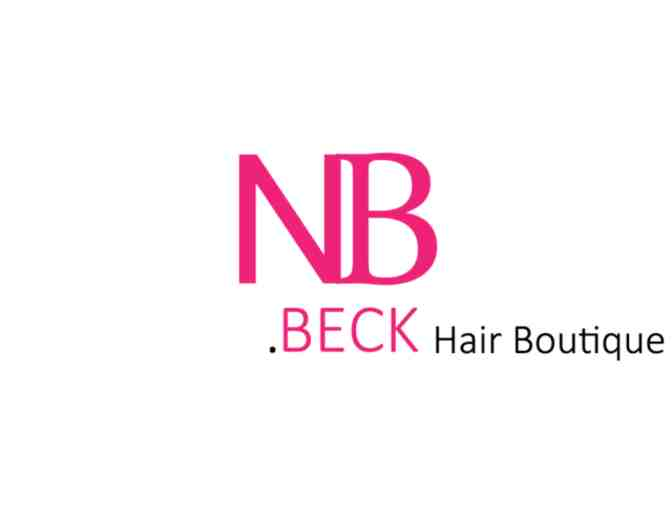 Adult and child haircut package at NicholeBeck Hair Boutique