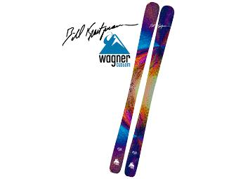 One of a kind custom Wagner Skis designed by Bill Kreutzmann of the Grateful Dead!