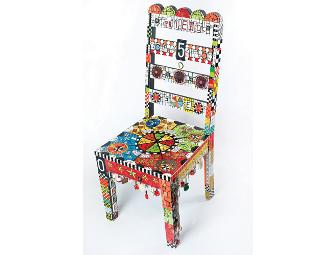 Flair Robinson  |  Friends Mosaic Chair