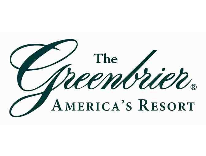 Escape for Two-night Stay at Greenbrier Resort