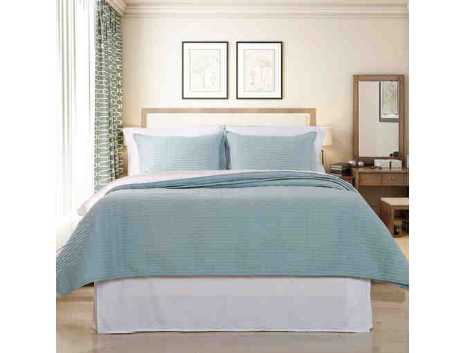 Luxury Quilted Coverlet & Separate Sham