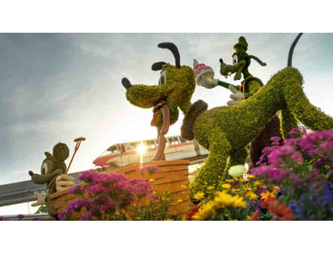 Art of Disney & Epcot International Flower/Garden Festival Tix & Tour w/ Katy Moss Warner