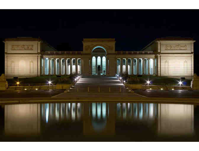 de Young or Legion of Honor - General Admission for 4