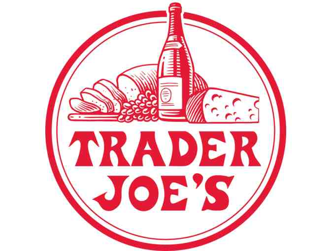 Trader Joe's Gift Basket - Food for a Day and 3 Bottles of Wine