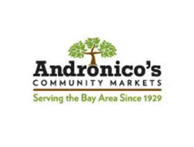Andronico's Community Market - $25 Gift Card