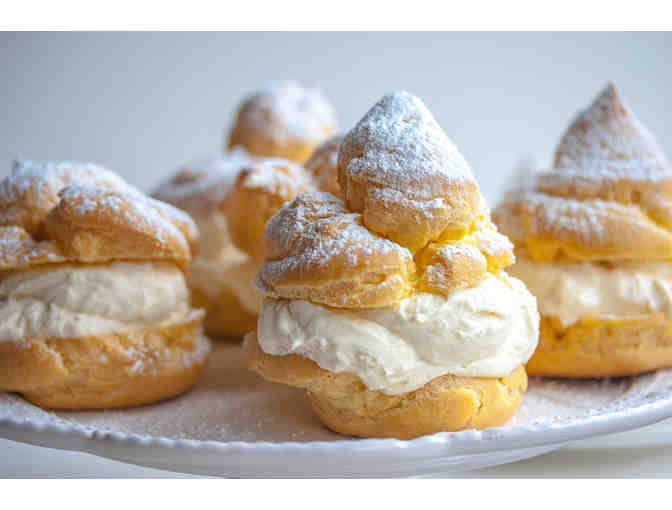 Cream Puff Party for 8 with Ms. Wong, Ms. Won, Ms. Ikeda, and Ms. Lim