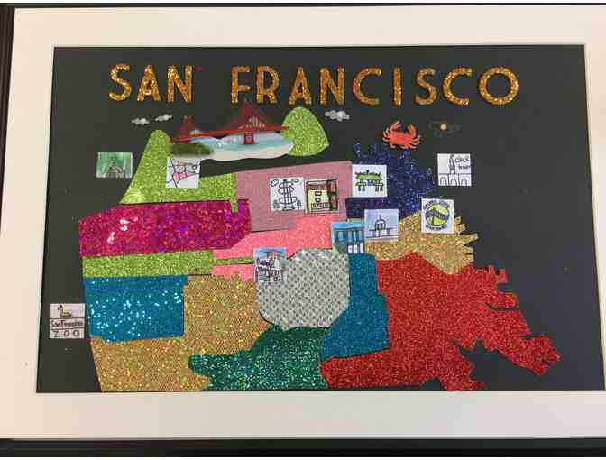3rd Grade Room 206 (Mr. Savant) - Our Beautiful City #1 (Gold Font)