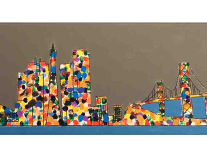 5th Grade Room 211 (Barisonek) - San Francisco Skyline (Gray)
