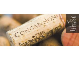 Concannon Private Tour & Tasting for Four (4) + Logo Glass