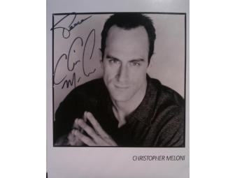 Law & Order: SVU's CHRIS MELONI Signed Photo