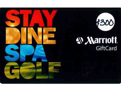 $300 Marriott Gift Card