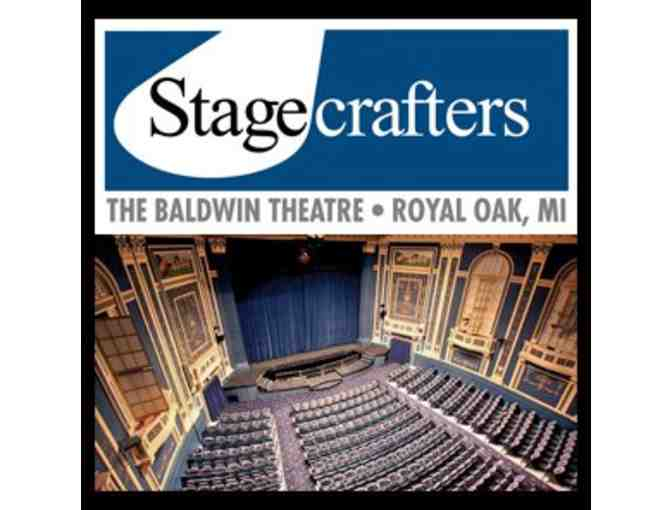 2 Tickets to Stagecrafters Theatre