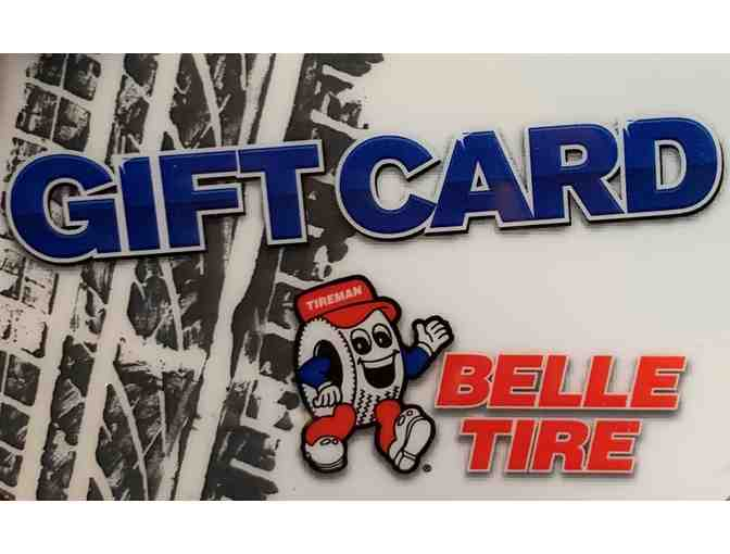 $50 Belle Tire Gift Card