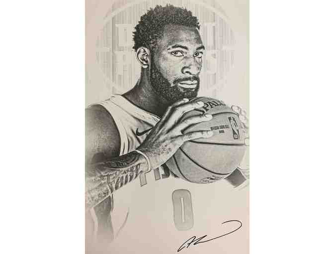 Autographed Andre Drummond Lithograph