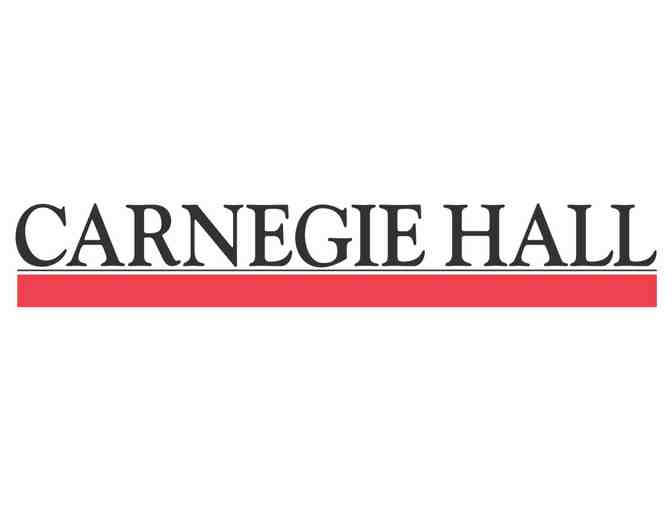 Two tickets for a performance in NYC's legendary Carnegie Hall - Photo 3