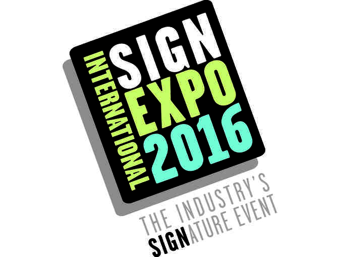 2016 ISA Sign Expo 10 x 10 booth