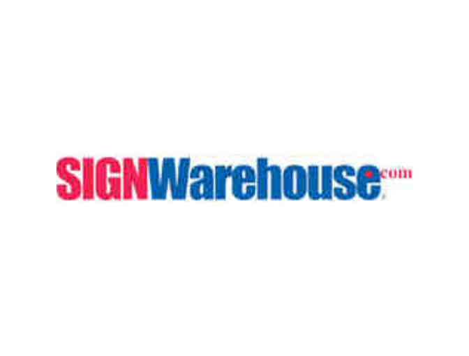 $500 SIGNWarehouse gift certificate