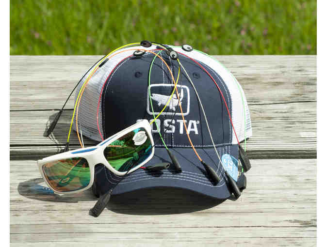 Costa Del Mar Men's Package - White Frames