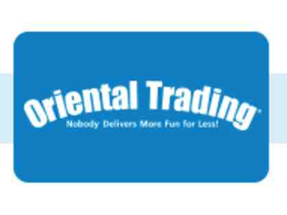 $25 Gift Certificate to Oriental Trading Company