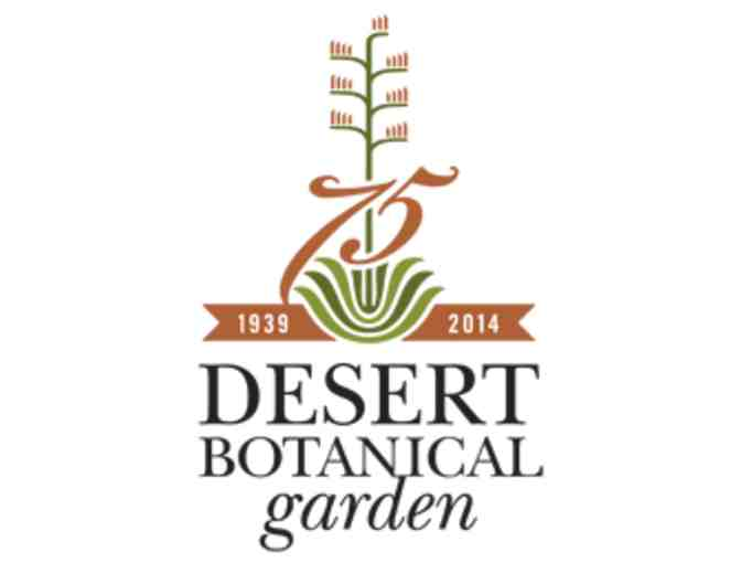 Desert Botanical Garden- Two General Admission Passes - Photo 1