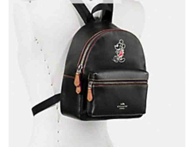 COACH MINI CHARLIE BACKPACK  WITH MICKEY - NWT - Photo 2