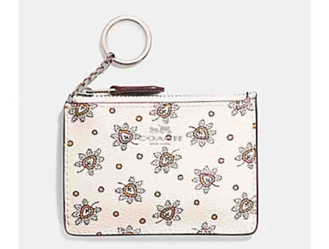 COACH MINI SKINNY ID CASE - FOREST BUD - NWT - Photo 1