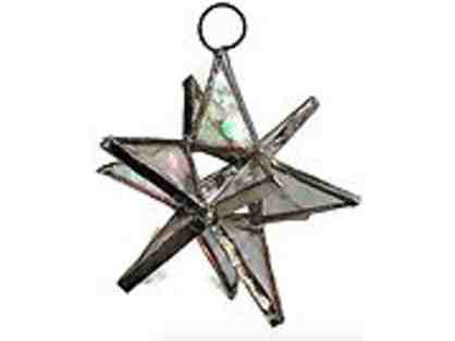 3-D Stained Glass Star - Translucent