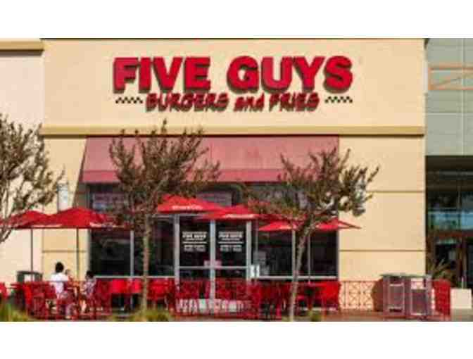 $20 Gift Card to Five Guys Burgers - Photo 1