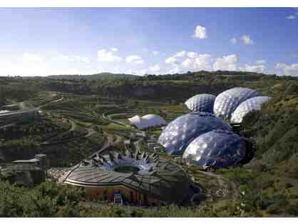 Family Pass to The Eden Project in Cornwall with 3-Night Yurt Stay