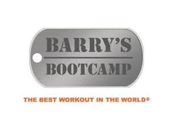 Barry's Bootcamp Gift Certificate