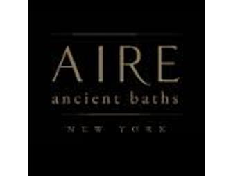 AIRE Ancient Baths Gift Certificate