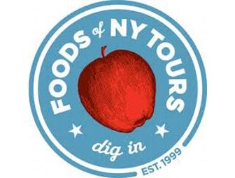 Foods of NY Tour