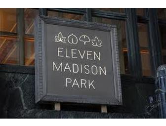 Eleven Madison Park $400 Gift Certificate