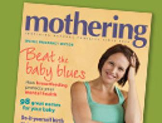 3 year subscription to Mothering Magazine