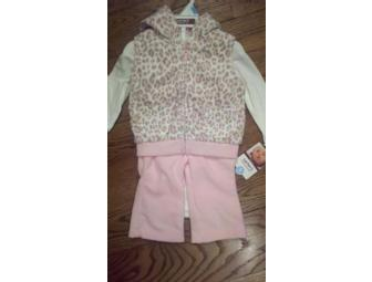 Carter's Girls Pink Cheetah 3pc Set NWT