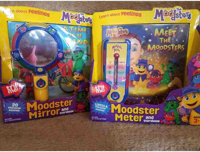 Moodsters Meter and Mirror and Storybook Sets