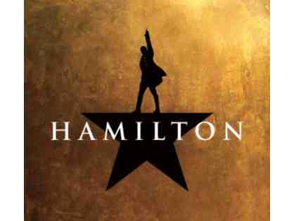 2 Orchestra Tickets to Hamilton on Broadway