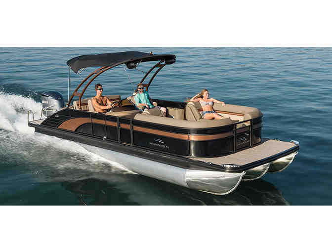 10 Passenger Pontoon Boat Rental and $100 Gift Card to Stone Water