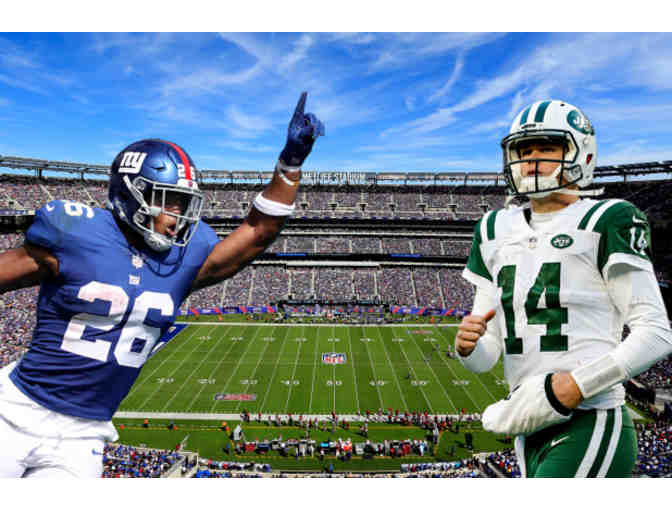 3 Tickets to Jets vs. Giants with VIP and Toyota Club Access