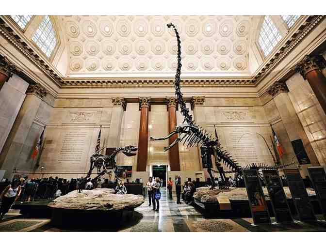 4 Tickets to the American Museum of Natural History