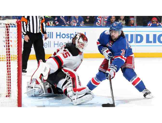 2 Tickets to a Rangers Hockey Game with $100 for Dinner