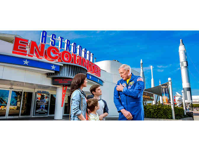 Kennedy Space Center Tour, Lunch with an Astronaut, 3 Night Stay with Airfare for 2