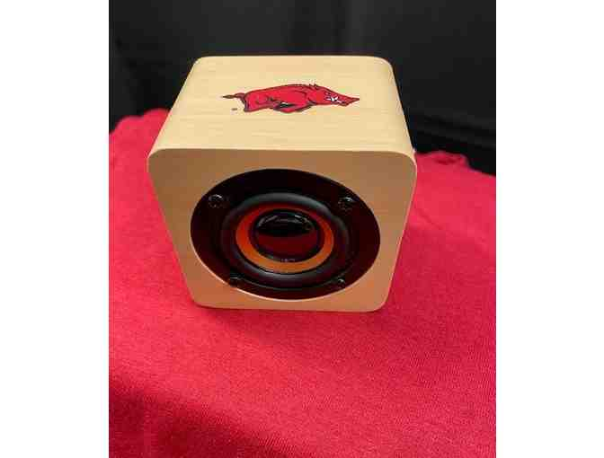 "Arkansas Razorbacks ""The Skinny Dip"" Wireless Bluetooth Speaker - Photo 1"