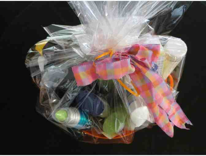 Basket of Health & Beauty Products with   2 Pedicure Coco Nail and Spa GC (Rivervale NJ)