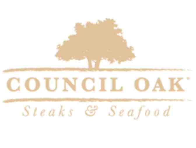 Dinner Certificate- Council Oak Steaks and Seafood OR Kuro at SHR in Hollywood, FL!