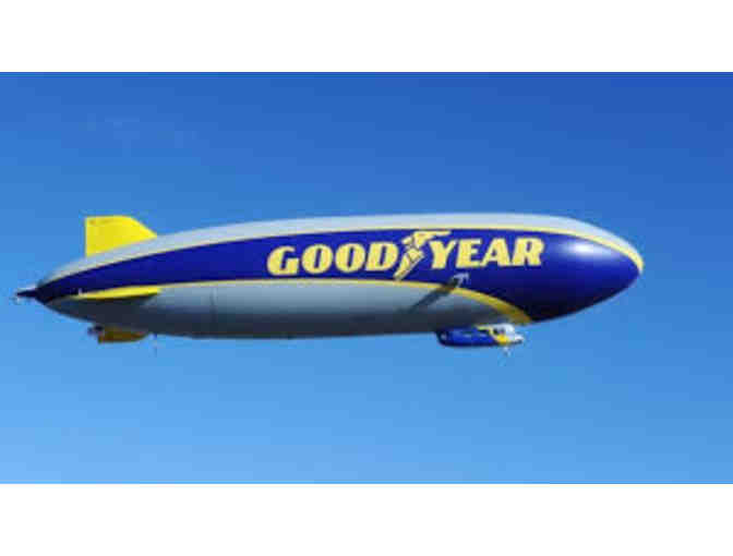 Flight on Wingfoot One - the Goodyear Blimp!