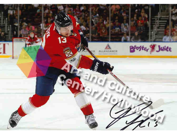 Autographed Player Photo of Florida Panther's Mark Pysyk