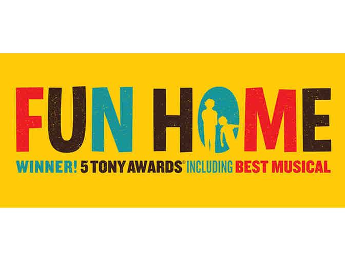 2 tickets to the hit musical 'Fun Home' at the Adrienne Arsht Center!