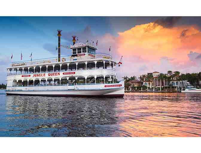 Jungle Queen Riverboat Sight-seeing Cruise for 2!
