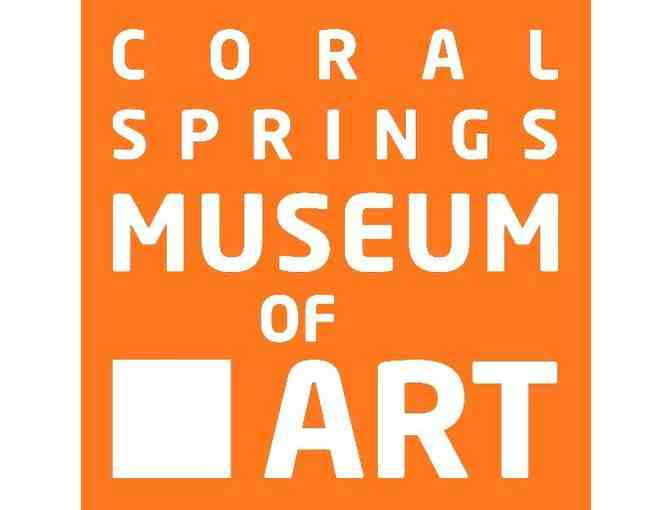 Coral Springs Museum of Art: 1-year Family Membership!